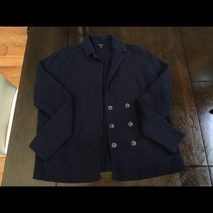 Talbots knit cardigan jacket EUC